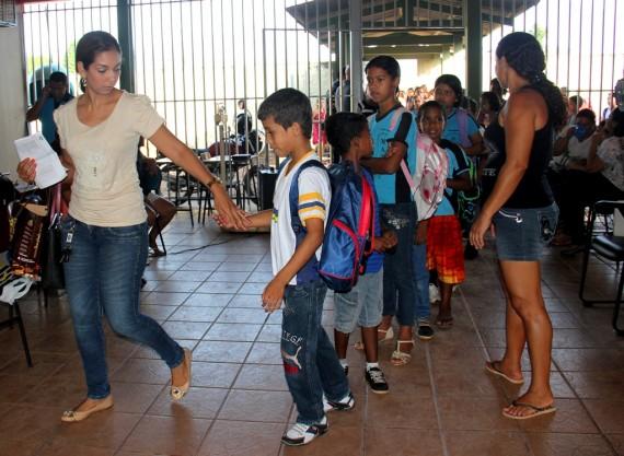 Aulas na Escola Manaus começaram nesta segunda-feira