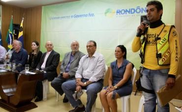 Sílvio Leal dos Santos agradece apoio do governo para a categoria