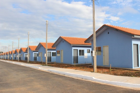 Residencial Jd. Feliz Cidade com 349 casas.