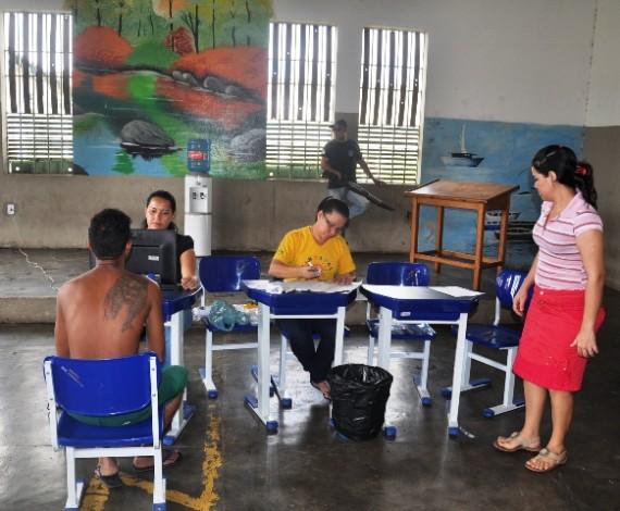 3° ano de imunização no sistema prisional 12.05.2014 Urso Branco