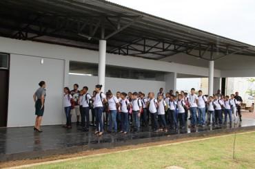 O Colégio Tiradentes da Polícia Militar, em Jacy-Paraná, é uma das escolas-polo espalhadas pelo Estado