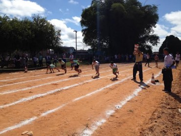 Pista de atletismo da Escola Marechal Cordeiro, em Pimenta Bueno, foi aprovada para utilização para os Jogos Escolares