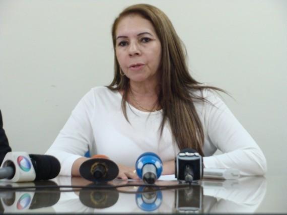 Presidente da Caerd, Iacira Azamor