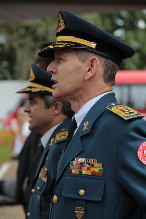 Coronel Sílvio Luiz Rodrigues, novo comandante