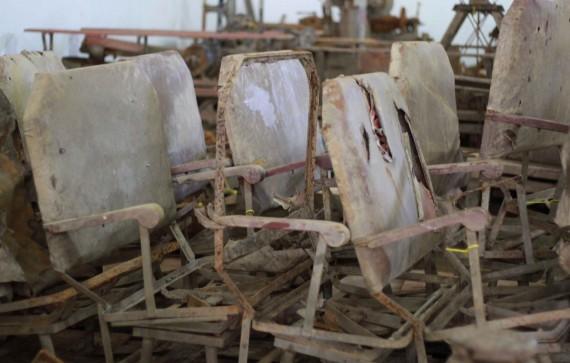 Cadeiras fazem parte do acervo a ser preservado