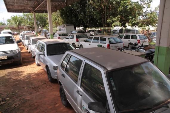 Frota de veículos será reduzida e monitorada