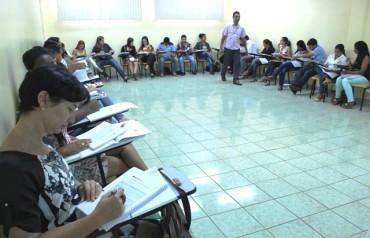 Participaram do curso 31 técnicos socias