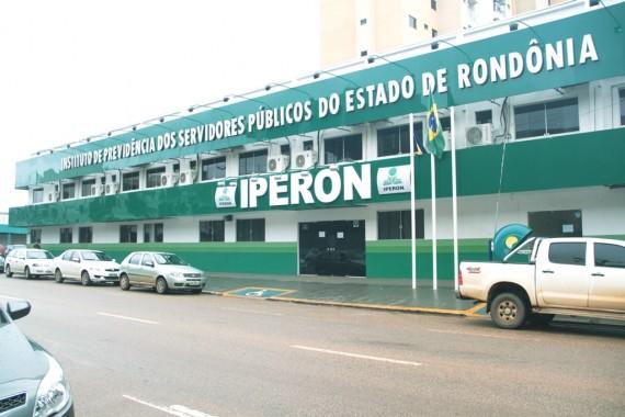 Sede do Iperon, em Porto Velho