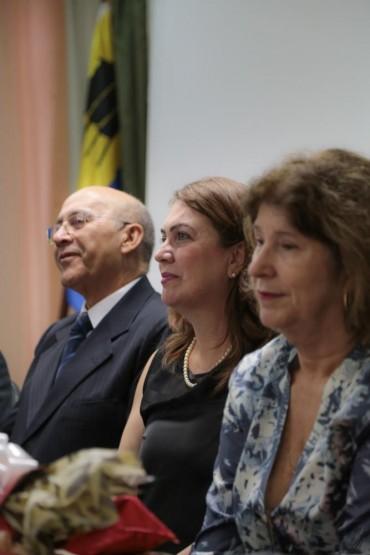 Governador, secretária de Educação e representante do Instituto Airton Senna