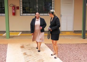 Secretária adjunta Marionete Assunção visitou diversas escolas estaduais de Porto Velho nesta quinta-feira, 23