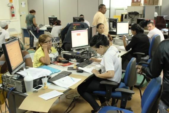 Central de Atendimento Morada Nova na sede da Emater