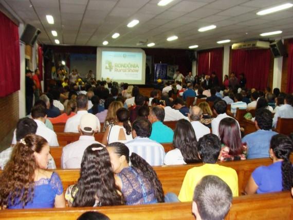 Lançamento da feira em J-Paraná