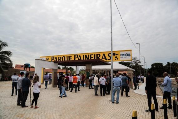 Inauguraçao Parque Paineiras 28-05 Ji-Parana