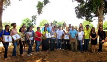 Representantes da Seduc visitam o viveiro da Ecoporé, em Rolim de Moura