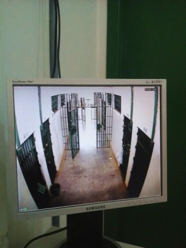 Tecnologia auxilia vigilância em penitenciária