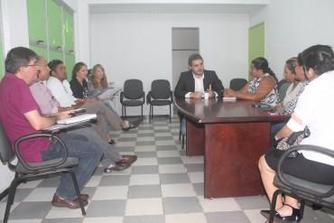 Representantes da Sepaz e Sejus definem estratégias para ação conjunta