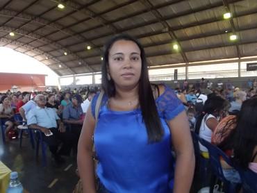 Silvana Pereira primeira sorteada dos Jardins dos Lagos