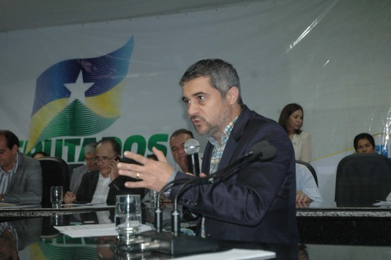 Lioberto Caetano destacou o empenho do governo para retomar todas as obras no estado.