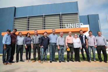 Previsão para inaugurar a Unisp é para o mês de agosto, próximo.