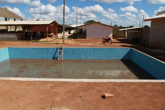 Entre os atrativos da escola estão a implantação do ensino integral e construção de uma piscina