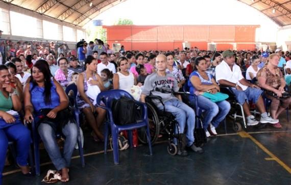 370 famílias participaram do sorteio de endereços do Residencial Jardim dos Lagos