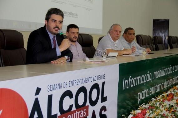 Superintendente  Thiago Flores, da Sepaz