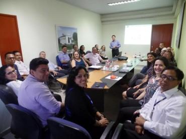 Servidores do Iperon foram envolvidos em palestras motivacionais para formação de líderes