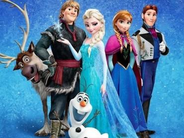 Frozen será apresentado domingo as 15h00