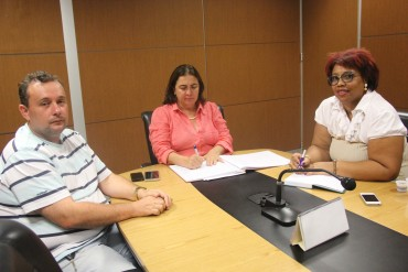 Representantes da Unir se reuniram com a secretária Fátima Gavioli para debater sobre mestrado profissional