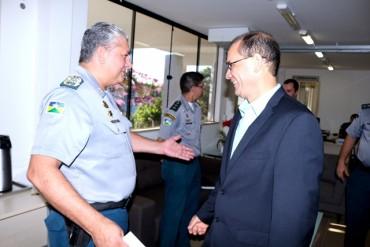 Comandante da PM e vice-governador