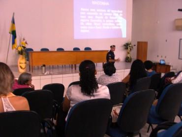 Cabo PM Paulo explicita o programa de combate ao uso de drogas