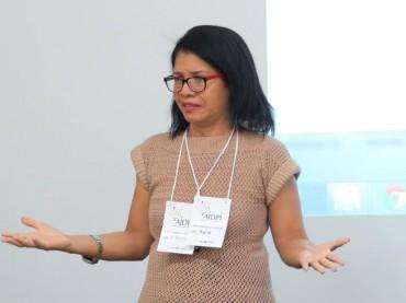 Sandra Coenga, do Ministério da Saúde