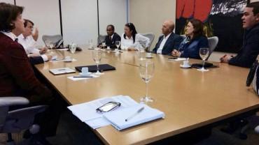 Gavioli acompanha o governador Confúcio Moura em reunião no BNDES
