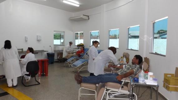 Após a mudança, o número de doadores aumentou no Centro de Coleta de Sangue de Rolim de Moura