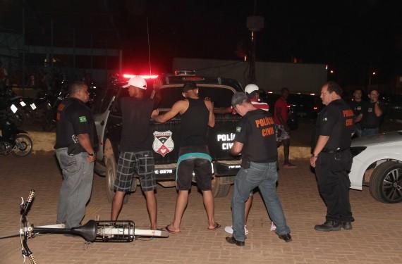 Durante a Operação Presença foram feitas abordagens em pessoas, carros e motocicletas.