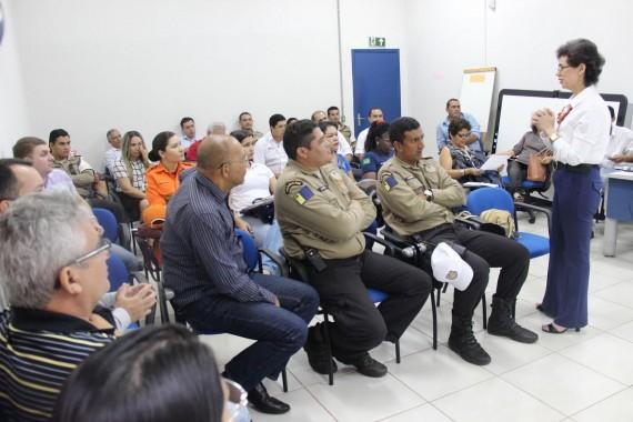 Reunião de planejamento da Semana Nacional de Trânsito 2015
