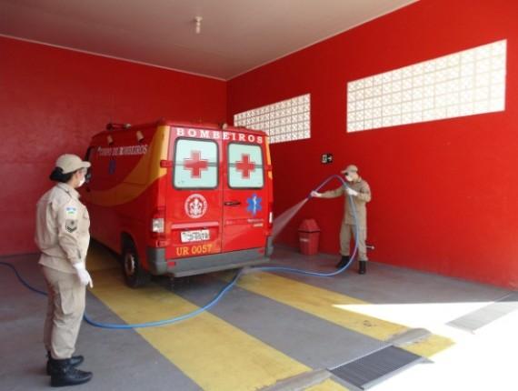 Lavador é específico para a assepsia de equipamentos e viaturas empregadas em ocorrências de emergência pré-hospitalar