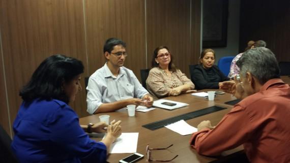 Reunião com Comissão Estadual de Suporte à Transposição