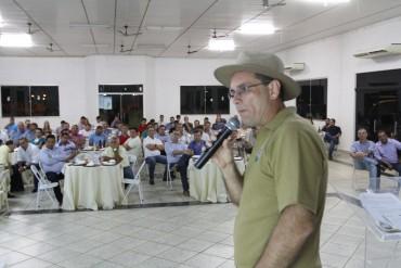 Vice-governador, Daniel Pereira, recepcionou a comitiva em Ariquemes