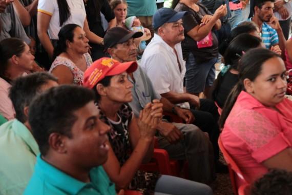 População do distrito participou do evento na quinta-feira