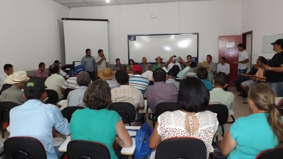 Mutirão foi aberto ontem no campus da Fasp de Rolim de Moura