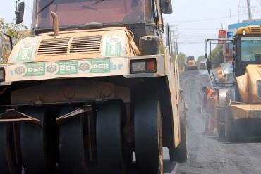 Inicio do asfaltamento da avenida Porto Velho