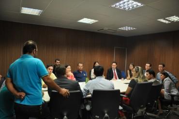 Reunião foi realizada na Sejus