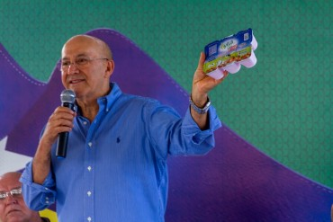Governador afirma que fica satisfeito em inaugurar agroindústrias