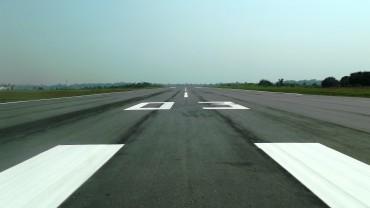 Pista do aeroporto de Ji-Paraná recebeu recentemente a pintura de sinalização rece