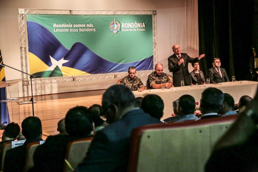 Confúcio Moura diz que parceria com o Exército trará benefícios para Rondônia