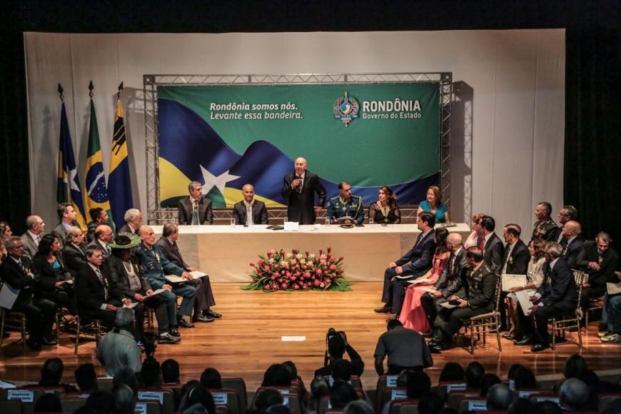 Solenidade de Entrega de Medalhas da Ordem do Mérito Marechal Rondon 17-11-67