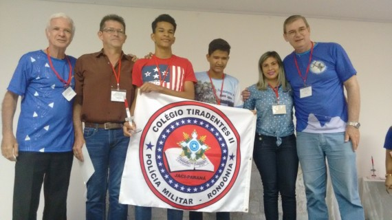 Estudantes e professores que representaram Rondônia na Olimpíada Brasileira de Astronomia e Aeronáutica