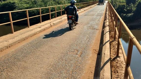 Governo Vai construir nova ponte de concreto sobre o Rio Jamari.