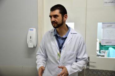 Coordenador de transplantes renais, Alessandro Prudente